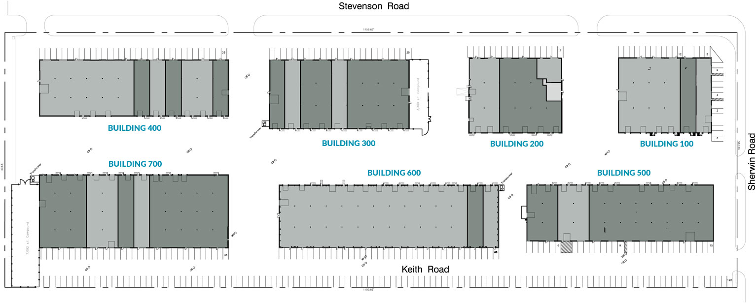 Sherwin Park Building Layout